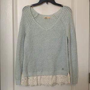 Hollister Mint Sweater